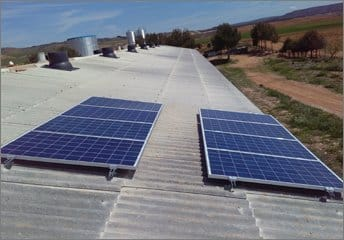 AMB GREEN POWER instala un bombeo solar en Ariza (Zaragoza)
