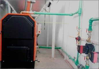 AMB instala una caldera de biomasa para proceso industrial en Almazara de Aceite