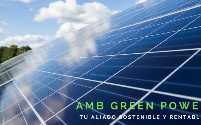 Lanzamiento nueva comunicación AMB Green Power, expertos en autoconsumo solar fotovoltaico