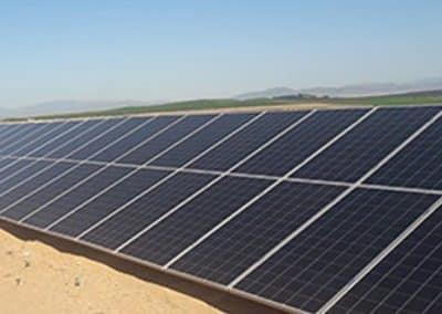 Proyecto de Bombeo Solar Riego directo desde Pozo