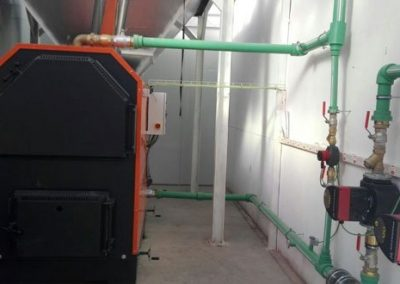 Proyecto Instalación de Biomasas Empresa Industrial