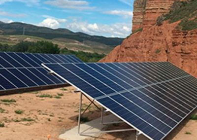 Proyecto de Bombeo Solar llenado de Balsa desde Pozo