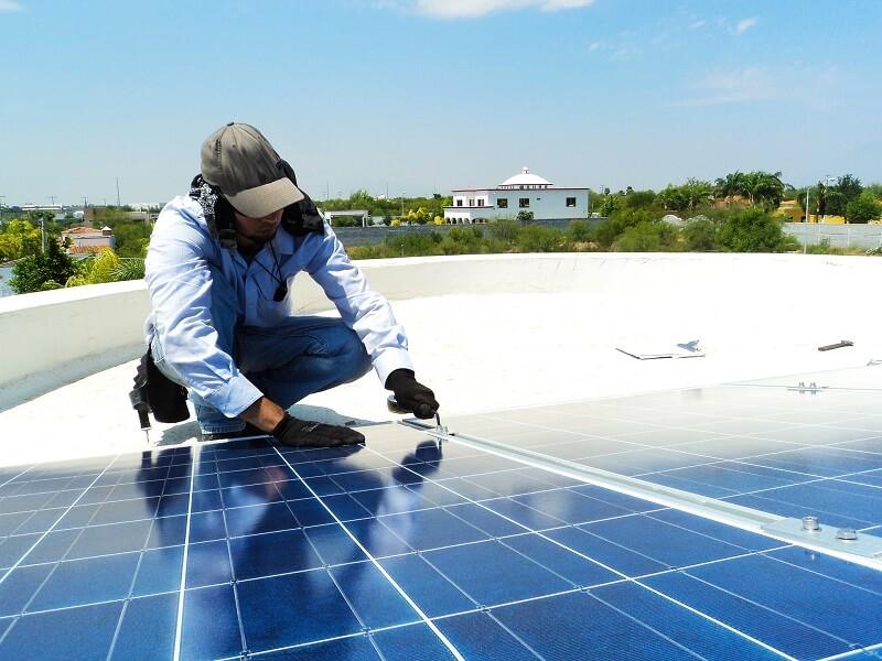 colocacion placas solares
