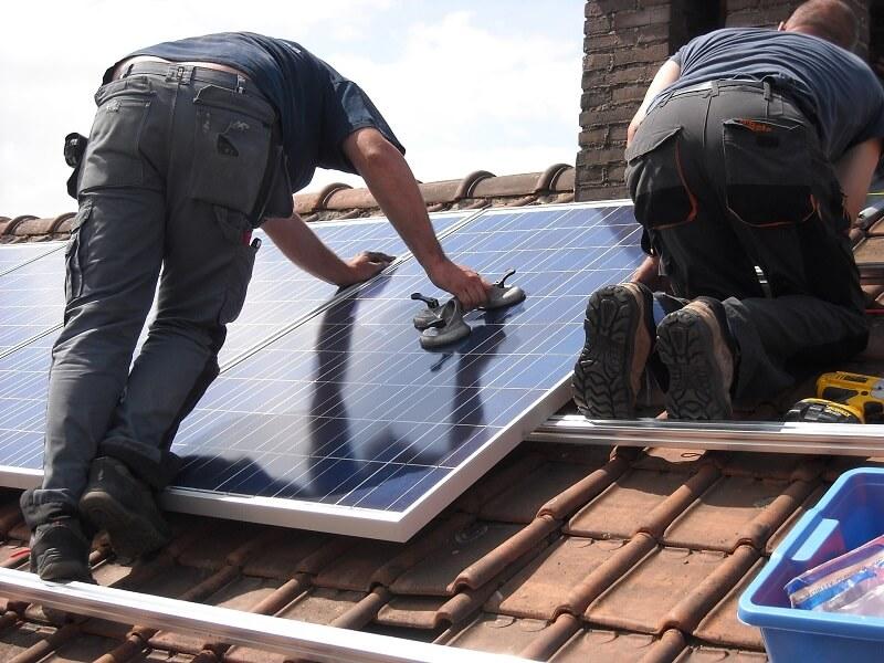 instalar placas solares montaje