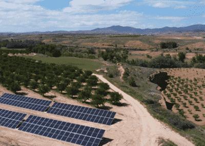 Proyecto Bombeo Solar de pozo a balsa